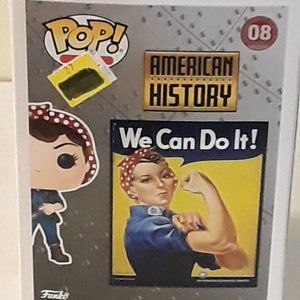 POP ICONS ,ROSIE THE RIVETER !